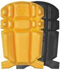 Polvipehmuste Stretch housuun musta/keltainen