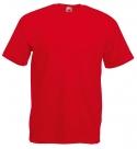 T-paita Fruit of the Loom, punainen value veight 165 g,
